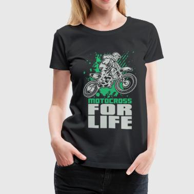 Motocross For Life Stunt - Women's Premium T-Shirt