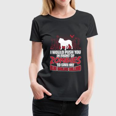 Olde English Bulldog - Women's Premium T-Shirt