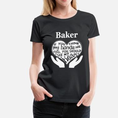 Anita Baker Baker - You should see my heart awesome t-shirt - Women's Premium T-Shirt