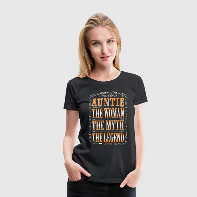 AuntieThe Legend... - Women's Premium T-Shirt
