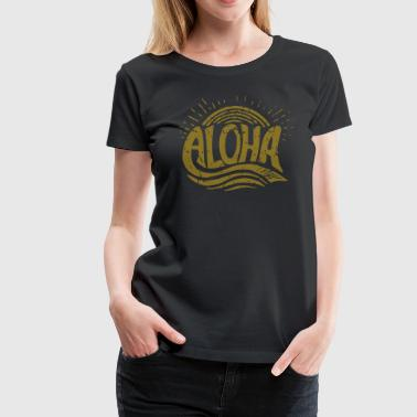 Aloha Sunrise - Women's Premium T-Shirt