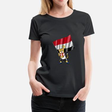Egypt Comic Egypt fan cat - Women's Premium T-Shirt