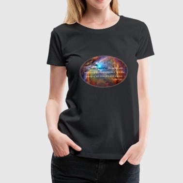 Carl The mysterious: Carl Sagan Quote - Women's Premium T-Shirt