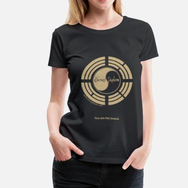 Chungi Taylor You Are The Brand Gold Print Women - Women's Premium T-Shirt