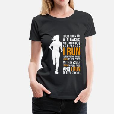 Running Run - Women's Premium T-Shirt