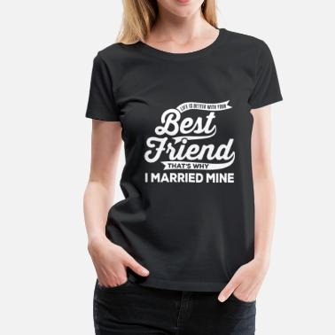 Best Friend Army Best Friend - Women's Premium T-Shirt