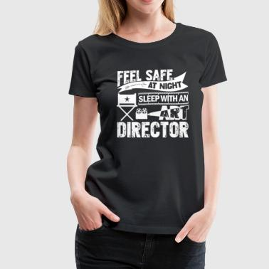 Sleep With Art Director Shirt - Women's Premium T-Shirt