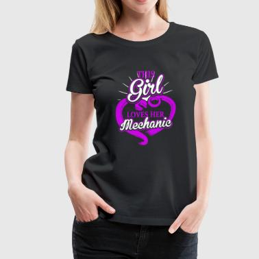 Mechanic Boyfriend Mechanic Shirt - Women's Premium T-Shirt