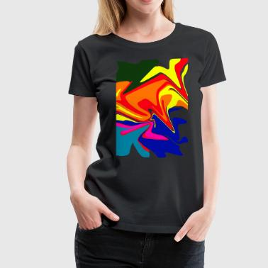 Abstract 2 - Women's Premium T-Shirt