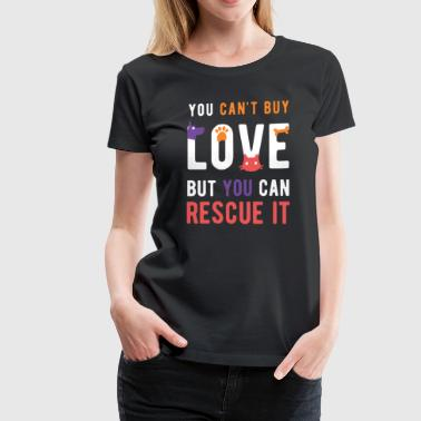 Animal Lover Rescue love Animal Rescue T Shirt - Women's Premium T-Shirt