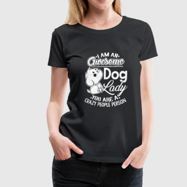 Dog Lady Shirt - Women's Premium T-Shirt