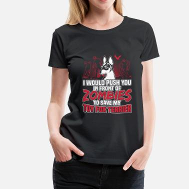 Fox Terrier Toy Fox Terrier - Women's Premium T-Shirt