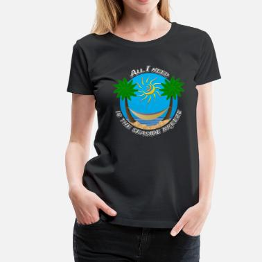 Seaside Seaside Breeze #5 - Women's Premium T-Shirt