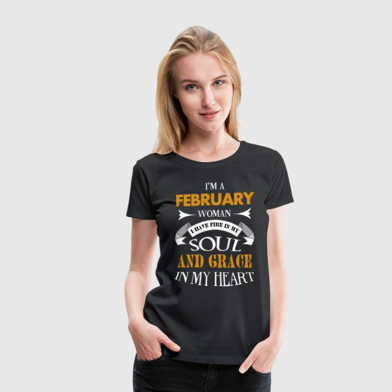 Im a february woman - Women's Premium T-Shirt