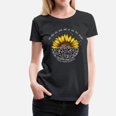 Try The sun will rise and we will try again - Women's Premium T-Shirt