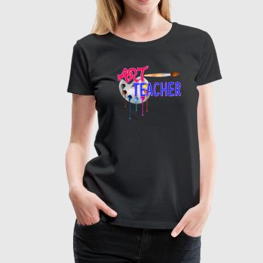 Art Teacher Art Teacher Tee Shirt - Women's Premium T-Shirt