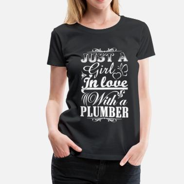 Furniture Plumber plumber plumber furniture plumber plumber crack  - Women's Premium T-Shirt