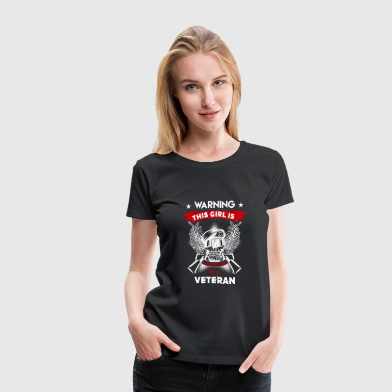 Protected By Veteran - Women's Premium T-Shirt