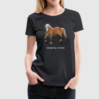 Palomino Stallion Horse Art - Women's Premium T-Shirt