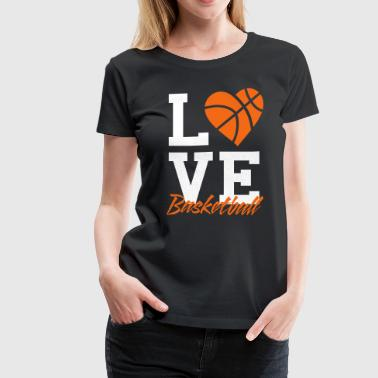 love basketball - Women's Premium T-Shirt