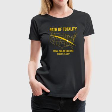 Path Of Totality Total Solar Eclipse - Women's Premium T-Shirt