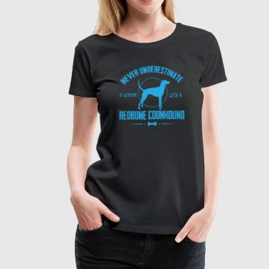 Dog Redbone Coonhound - Women's Premium T-Shirt