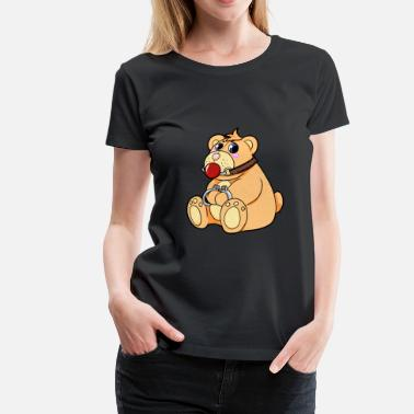 Bdsm Quotes bdsm teddy - Women's Premium T-Shirt