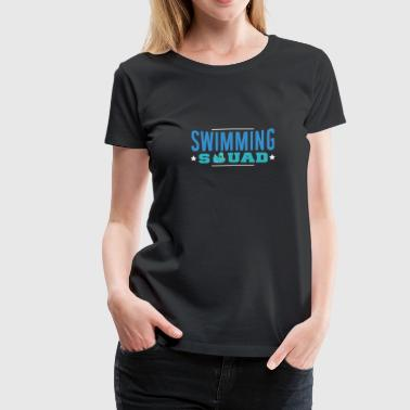 Swimming Squad Shirt | Swimming Team T Shirt - Women's Premium T-Shirt