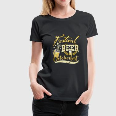 FESTIVAL OF BEER - Women's Premium T-Shirt