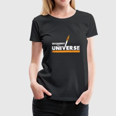Discovering the Universe kids gift christmas - Women's Premium T-Shirt