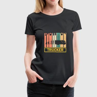 Truck Shirt - Transport - Neanderthal - Women's Premium T-Shirt