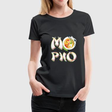 Vintage Funny Pho Soup Gift for Vietnamese Food Lovers - Women's Premium T-Shirt