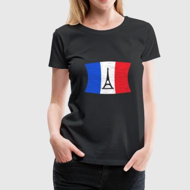 Tower Eiffel Tower France Flag Eiffel Tower Paris Gift Travelling - Women's Premium T-Shirt