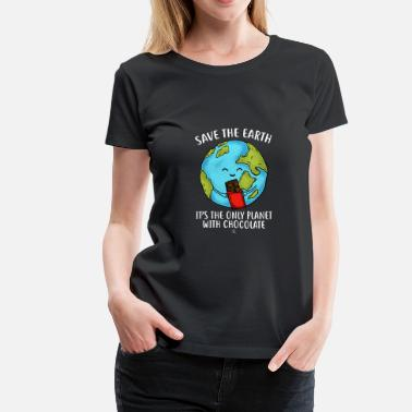 Pluto Funny Save the earth gift - Women's Premium T-Shirt