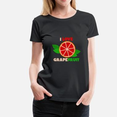 Bitters I Love Grapefruit Gift Christmas Kids Summer - Women's Premium T-Shirt