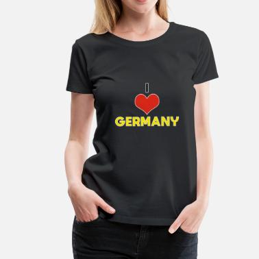 Beer Is Good I Love Germany Gift Christmas Kids - Women's Premium T-Shirt