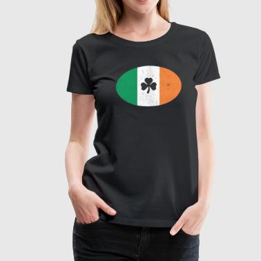 Harp Dublin Irish Oval - Women's Premium T-Shirt