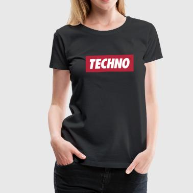 Techno - Women's Premium T-Shirt