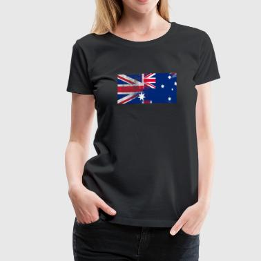 British Austrian Half Austria Half UK Flag - Women's Premium T-Shirt