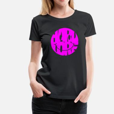 Happy Hardcore hardcore smiley magenta - Women's Premium T-Shirt
