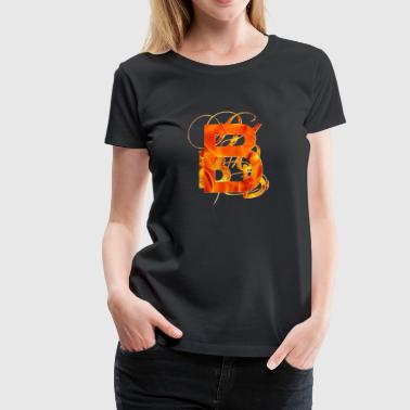 Fire Brand Branded B - Women's Premium T-Shirt