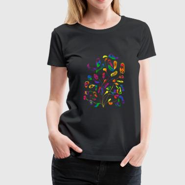 Tree of Color - Women's Premium T-Shirt