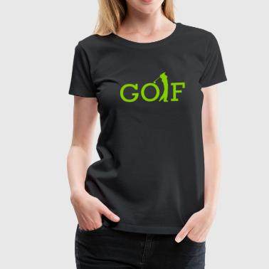 Golf Team Golf - Women's Premium T-Shirt