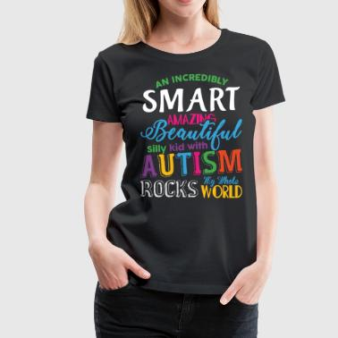 Autism Strong Autism My Whole Rocks World T Shirt - Women's Premium T-Shirt