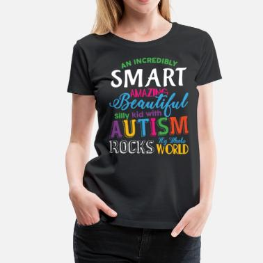 World Autism Awareness Day Autism My Whole Rocks World T Shirt - Women's Premium T-Shirt