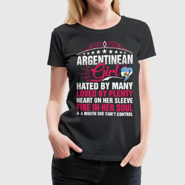 Argentinean Girl Cant Control - Women's Premium T-Shirt