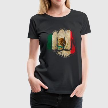 Mexico Fist - Women's Premium T-Shirt