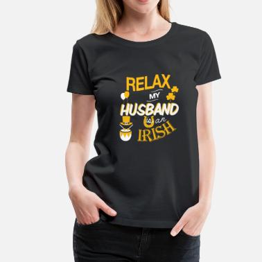 Irish Husband Irish husband - My husband is an Irish - Women's Premium T-Shirt