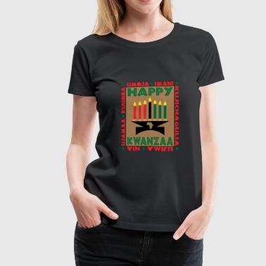 Happy Kwanzaa - Women's Premium T-Shirt