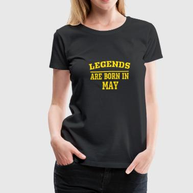 Are Born In May Born in May - Women's Premium T-Shirt